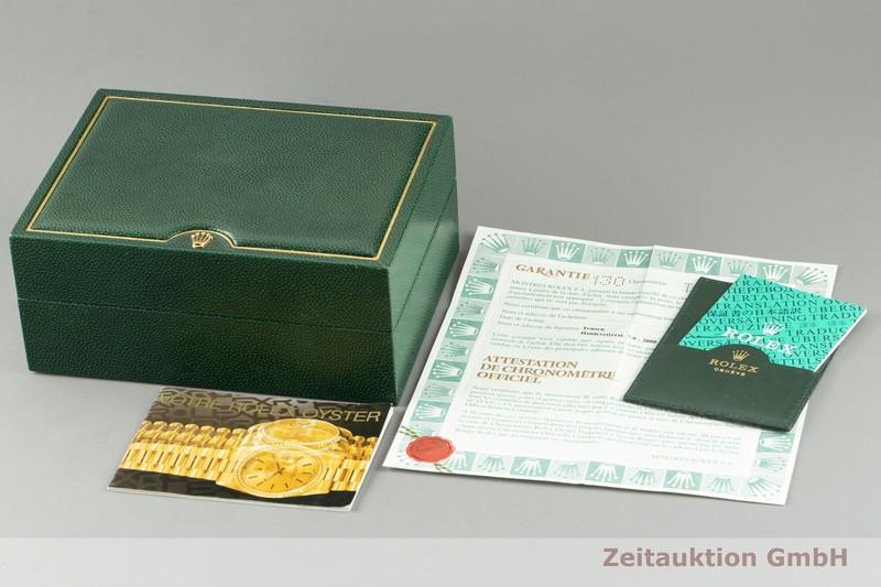 gebrauchte Luxusuhr Rolex Datejust 18k Gold Automatik Kal. 3135 Ref. 16238    2103745 _0