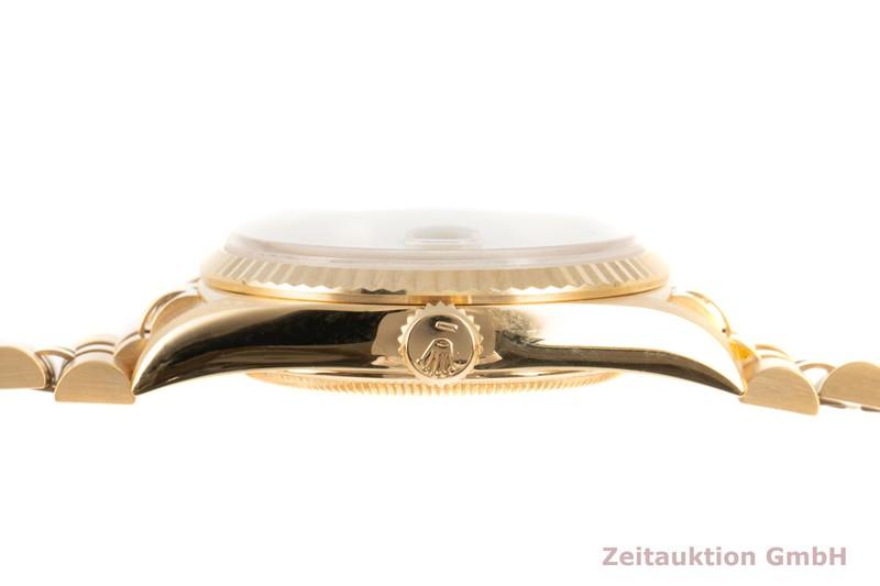gebrauchte Luxusuhr Rolex Datejust 18k Gold Automatik Kal. 3135 Ref. 16238    2103745 _1