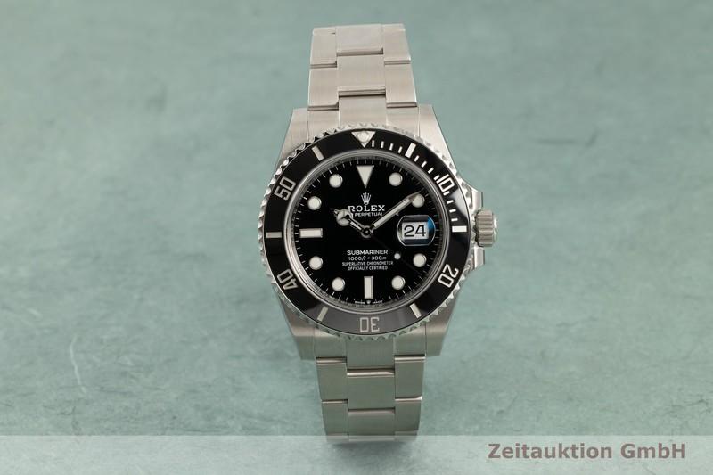 gebrauchte Luxusuhr Rolex Submariner Stahl Automatik Kal. 3235 Ref. 126610LN    2103761 _0