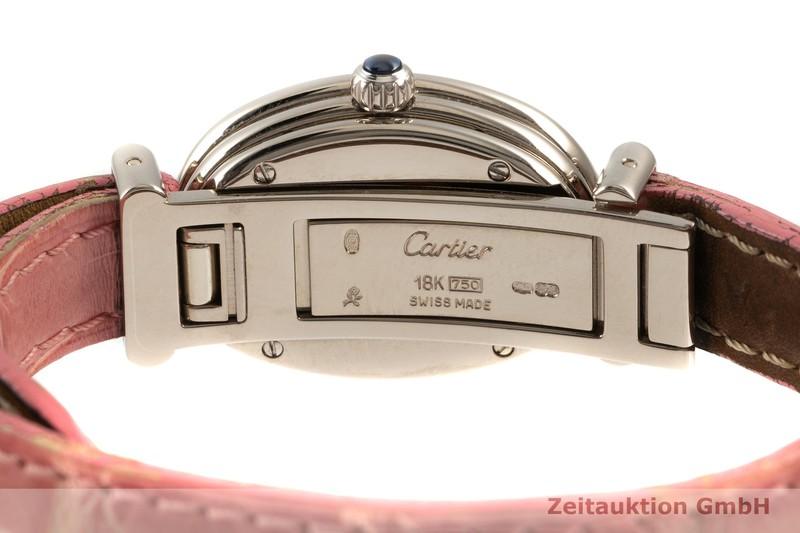 gebrauchte Luxusuhr Cartier Baignoire 18k Weissgold Quarz Kal. 057.06 Ref. 2295  | 2103775 _1