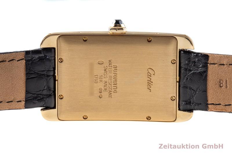 gebrauchte Luxusuhr Cartier Tank Américaine 18k Gold Automatik Kal. 120 Ref. 1740    2103785 _1
