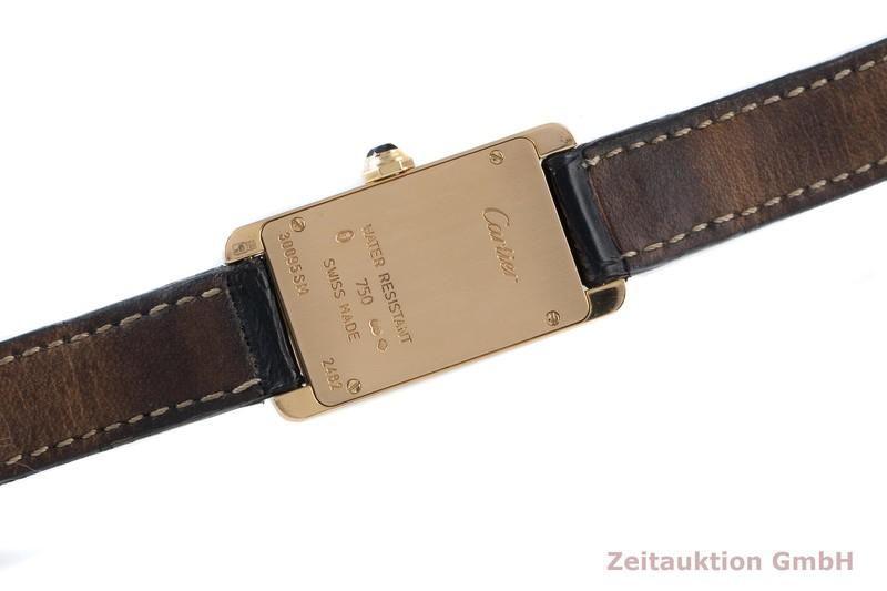 gebrauchte Luxusuhr Cartier Tank Américaine 18k Gold Quarz Kal. 157 Ref. 2482  | 2103786 _1