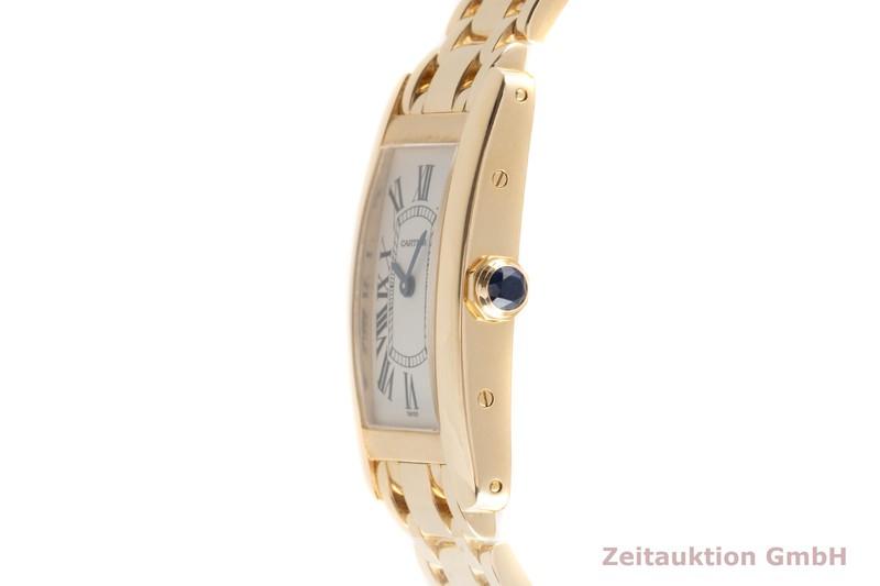 gebrauchte Luxusuhr Cartier Tank Américaine 18k Gold Quarz Kal. 157.06 Ref. 1710  | 2103791 _0