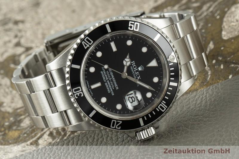 gebrauchte Luxusuhr Rolex Submariner Stahl Automatik Kal. 3135 Ref. 16610T  | 2103798 _0