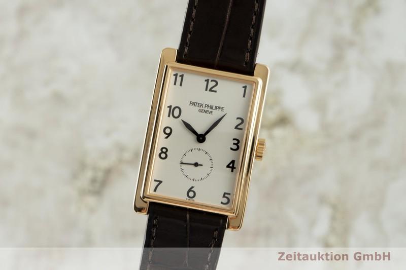 gebrauchte Luxusuhr Patek Philippe Gondolo 18k Gold Handaufzug Kal. 215 Ref. 5009  | 2103814 _0