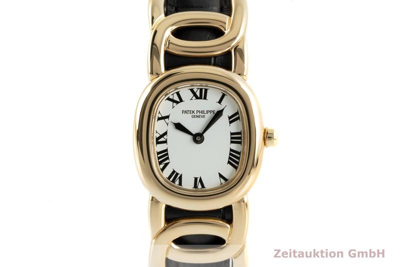 gebrauchte Luxusuhr Patek Philippe Ellipse 18k Gold Quarz Kal. E15 Ref. 4830  | 2103816 _0
