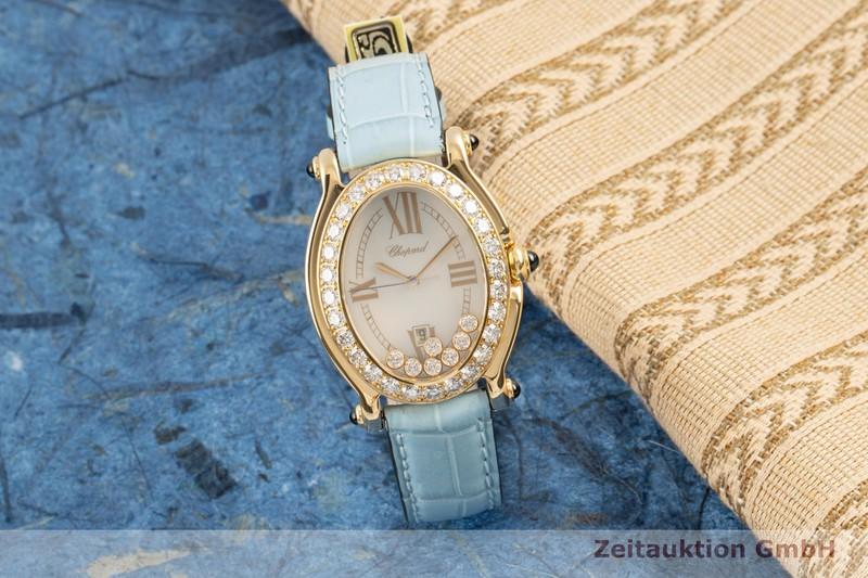 gebrauchte Luxusuhr Chopard Happy Sport 18k Gold Quarz Ref. 27/7000-23/11  | 2103819 _0
