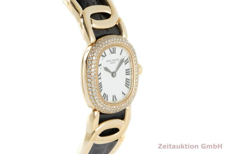 gebrauchte Luxusuhr Patek Philippe Golden Ellipse 18k Gold Quarz Kal. E15 Ref. 4831  | 2103829 _0