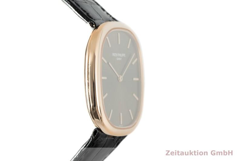 gebrauchte Luxusuhr Patek Philippe Golden Ellipse 18k Rotgold Automatik Kal. 240/111 Ref. 3738/100  | 2103832 _0