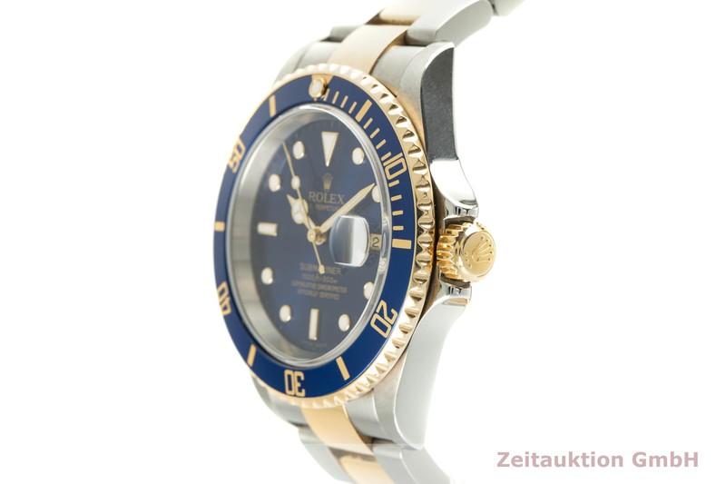 gebrauchte Luxusuhr Rolex Submariner Stahl / Gold Automatik Kal. 3135 Ref. 16613T    2103858 _0