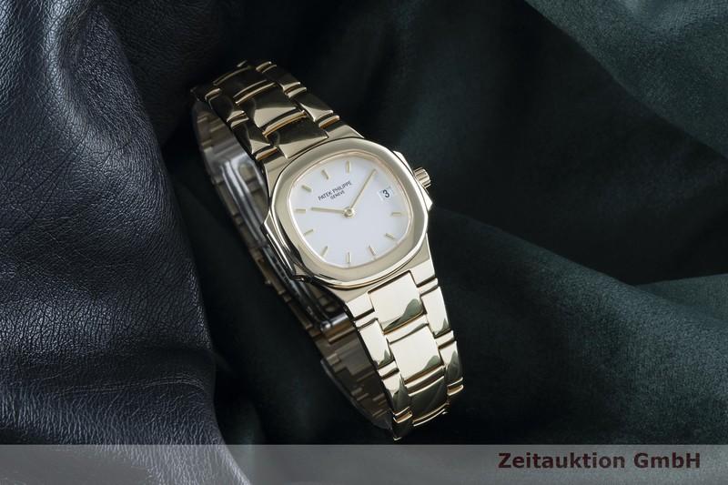 gebrauchte Luxusuhr Patek Philippe Nautilus 18k Gold Quarz Kal. E19C Ref. 4700/51  | 2103876 _0
