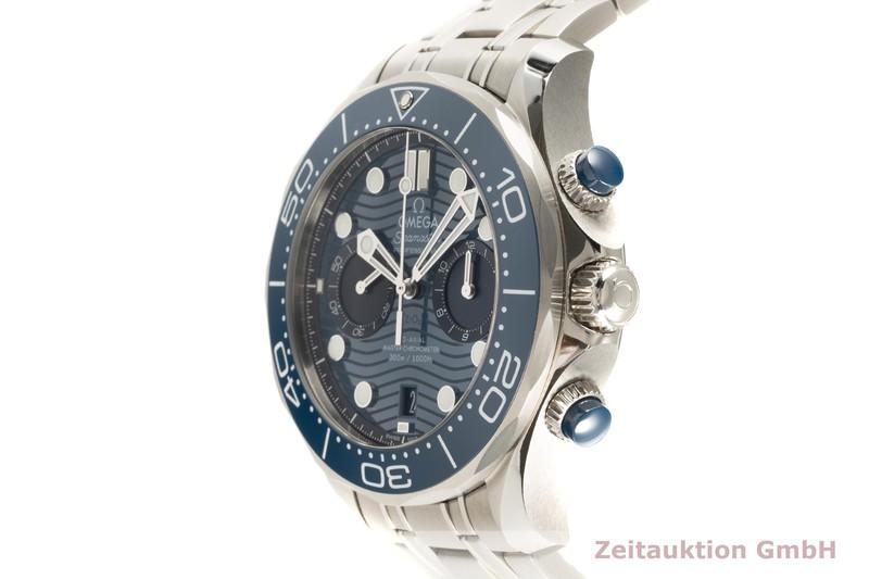 gebrauchte Luxusuhr Omega Seamaster Chronograph Stahl Automatik Kal. 9900 Ref. 210.30.44.51.03.001  | 2103886 _0