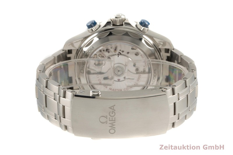 gebrauchte Luxusuhr Omega Seamaster Chronograph Stahl Automatik Kal. 9900 Ref. 210.30.44.51.03.001  | 2103886 _1