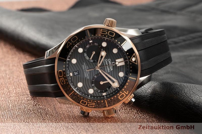 gebrauchte Luxusuhr Omega Seamaster Chronograph Stahl / Gold Automatik Kal. 9900 Ref. 210.22.44.51.01.001  | 2103899 _0