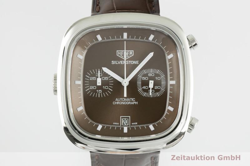 gebrauchte Luxusuhr Tag Heuer Silverstone Chronograph Stahl Automatik Kal. 11 Ref. CAM2111 LIMITED EDITION | 2103940 _0