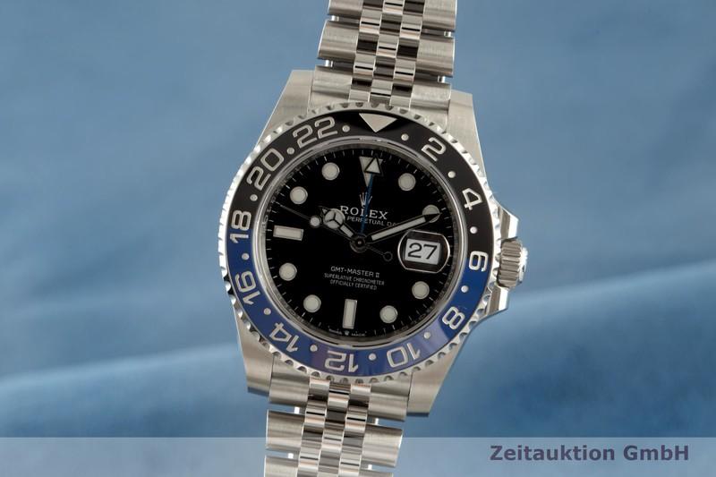 gebrauchte Luxusuhr Rolex GMT Master II Stahl Automatik Ref. 126710BLNR  | 2103984 _0