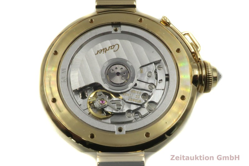gebrauchte Luxusuhr Cartier Pasha 18k Gold Automatik Kal. 120 Ref. 2397    2104025 _1