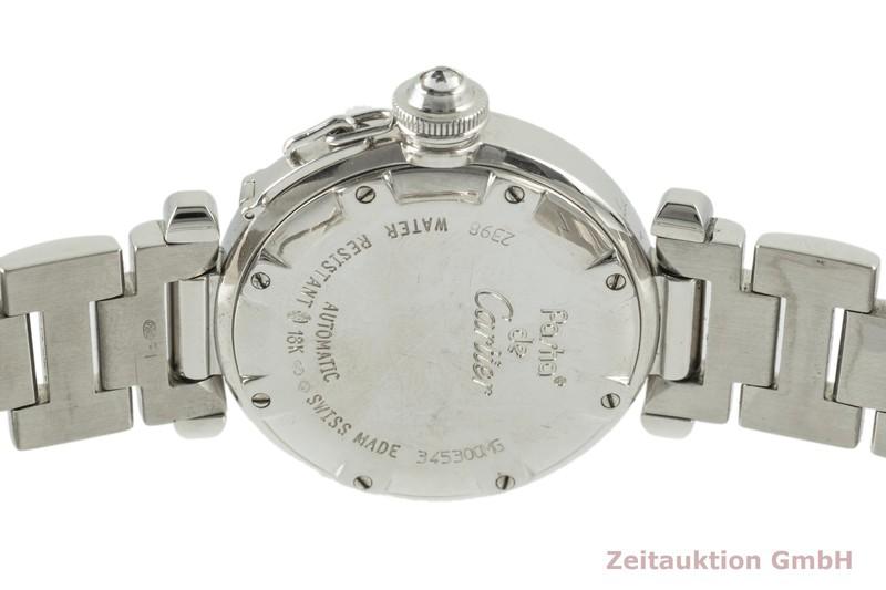gebrauchte Luxusuhr Cartier Pasha 18k Weissgold Automatik Kal. 120 Ref. 2398    2104027 _1