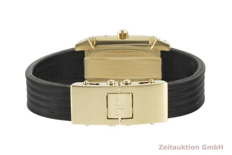 gebrauchte Luxusuhr Jaeger LeCoultre Reverso 18k Gold Handaufzug Ref. 296.1.74    2104028 _1