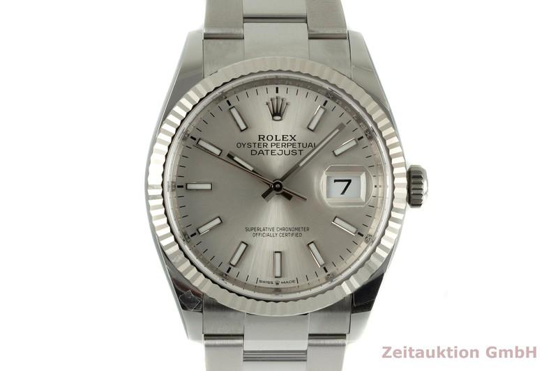 gebrauchte Luxusuhr Rolex Datejust Stahl / Weissgold Automatik Ref. 126234    2104078 _0