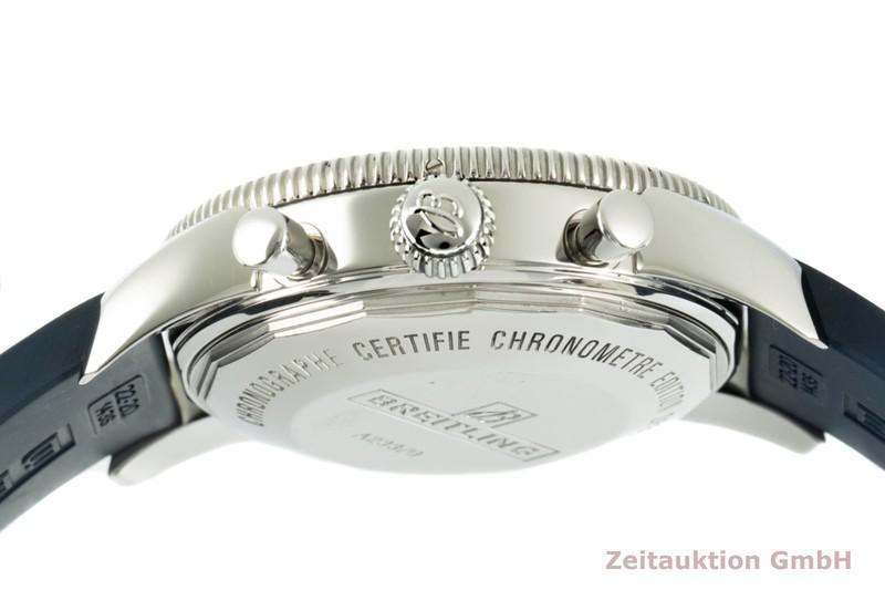gebrauchte Luxusuhr Breitling Superocean Chronograph Stahl Automatik Kal. B23 Ref. A23370    2104103 _1