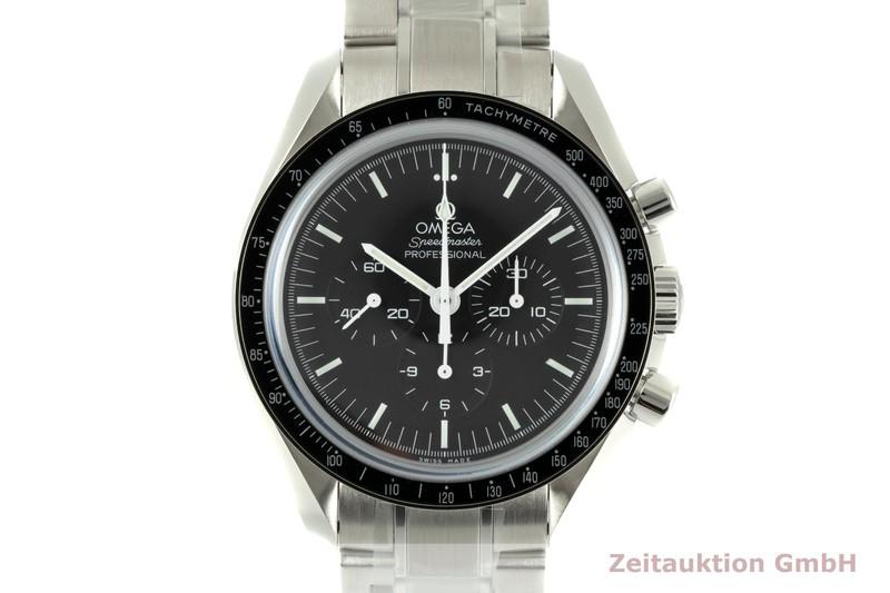gebrauchte Luxusuhr Omega Speedmaster Moonwatch Chronograph Stahl Handaufzug Kal. 1863 Ref. 311.30.42.30.01.006  | 2104144 _0