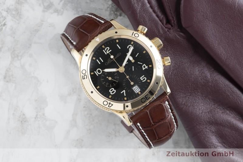 gebrauchte Luxusuhr Breguet Type XX Chronograph 18k Gold Automatik Kal. 582 Ref. 3820  | 2104199 _0