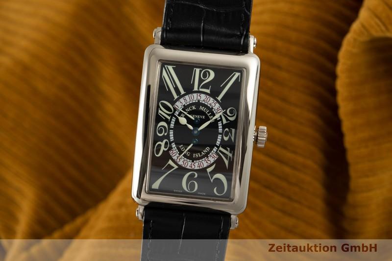 gebrauchte Luxusuhr Franck Muller Long Island 18k Weissgold Automatik Kal. 2800GR Ref. 1100DSR  | 2104240 _0