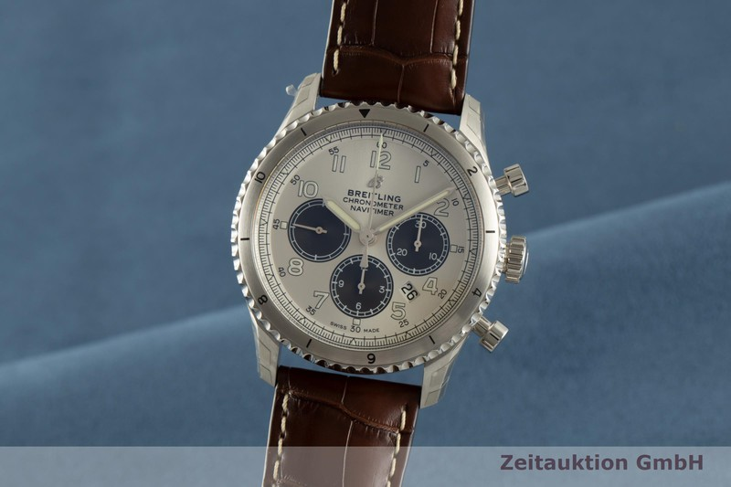 gebrauchte Luxusuhr Breitling Navitimer Chronograph Stahl Automatik Kal. B01 Ref. AB0117 LIMITED EDITION | 2104278 _0