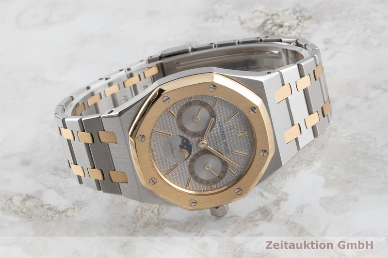 gebrauchte Luxusuhr Audemars Piguet Royal Oak Stahl / Gold Automatik Kal. 2124 Ref. 25594SA    2104281 _0