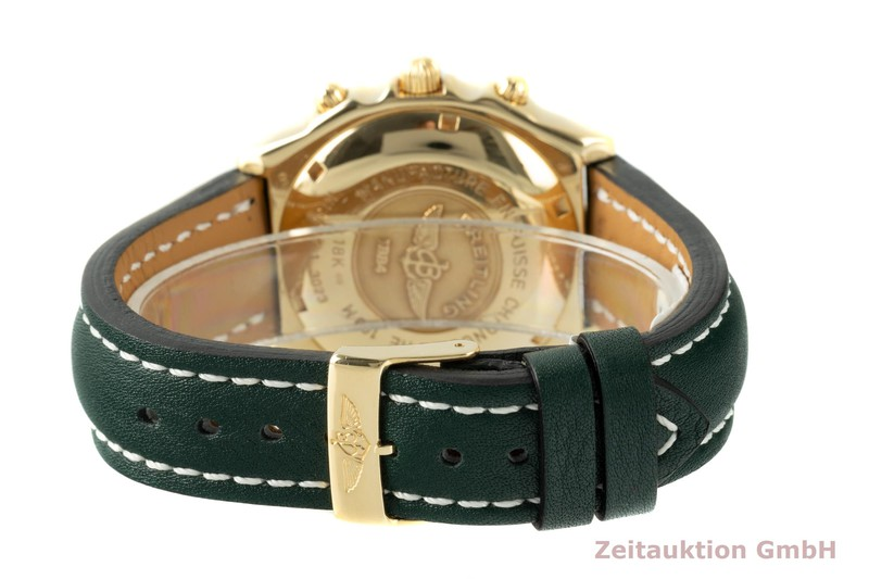 gebrauchte Luxusuhr Breitling Chronomat Chronograph 18k Gold Automatik Kal. B13 Ref. K13050.1  | 2104311 _1