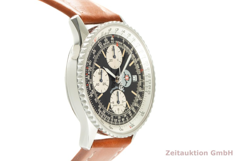 gebrauchte Luxusuhr Breitling Old Navitimer Chronograph Stahl Automatik Kal. B13 Ref. A13022 LIMITED EDITION   2104774 _0
