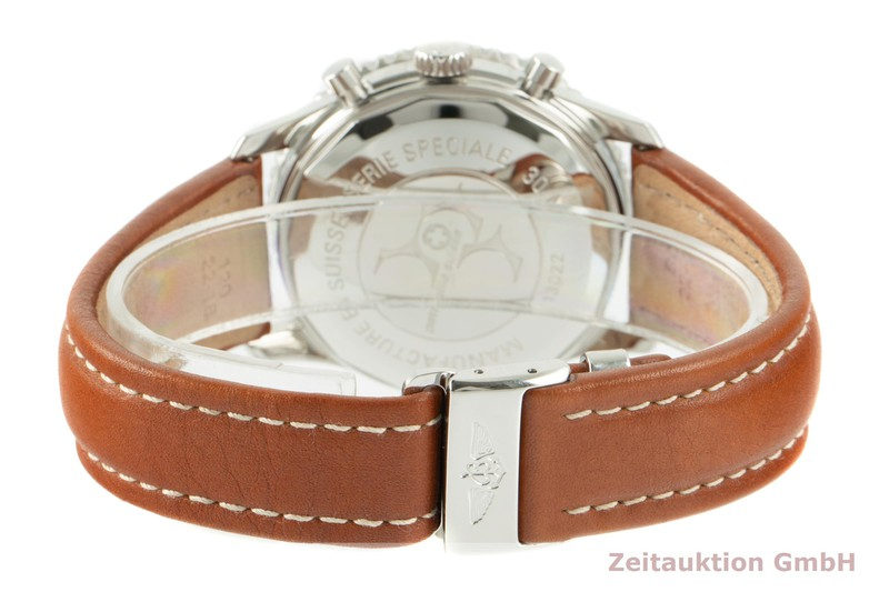 gebrauchte Luxusuhr Breitling Old Navitimer Chronograph Stahl Automatik Kal. B13 Ref. A13022 LIMITED EDITION   2104774 _1