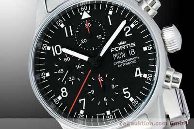 NEU - FORTIS PILOT PROFESSIONAL CHRONOGRAPH DAY-DATE 597.22.11M UVP: 2265,- Euro [900015]