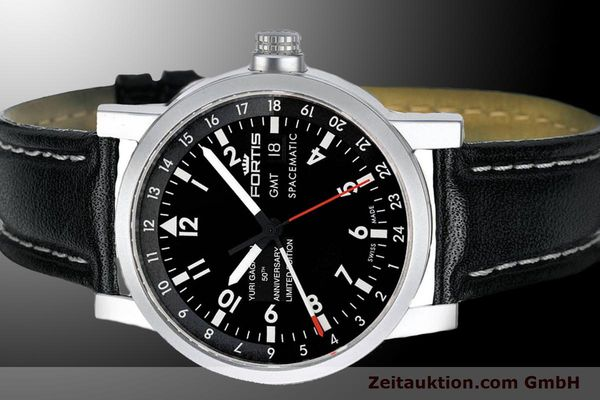 Used luxury watch Fortis Yuri Gagarin steel automatic Ref. 624.22.11YGEL01 LIMITED EDITION | 900020 01