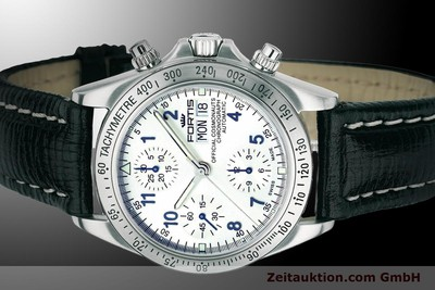 FORTIS COSMONAUTS CHRONOGRAPH CHRONOGRAPH STEEL AUTOMATIC LP: 2760EUR [900024]