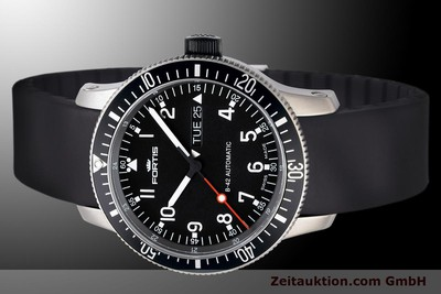 NEU - FORTIS B-42 OFFICIAL COSMONAUTS DAY-DATE 647.27.11K TITAN UVP: 1740,- Euro [900033]